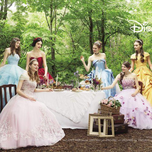 話題のディズニーウエディングドレスコレクションが人気!